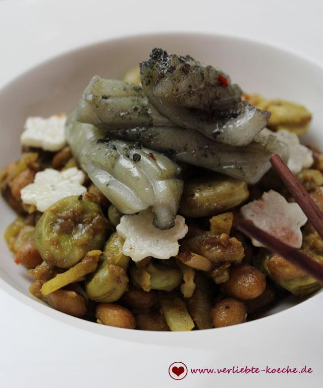 Curry-mit-Tintenfisch