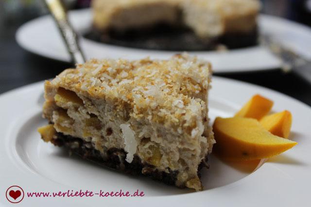 Kaki-Ricotta-Cheesecake auf Luthers Spuren