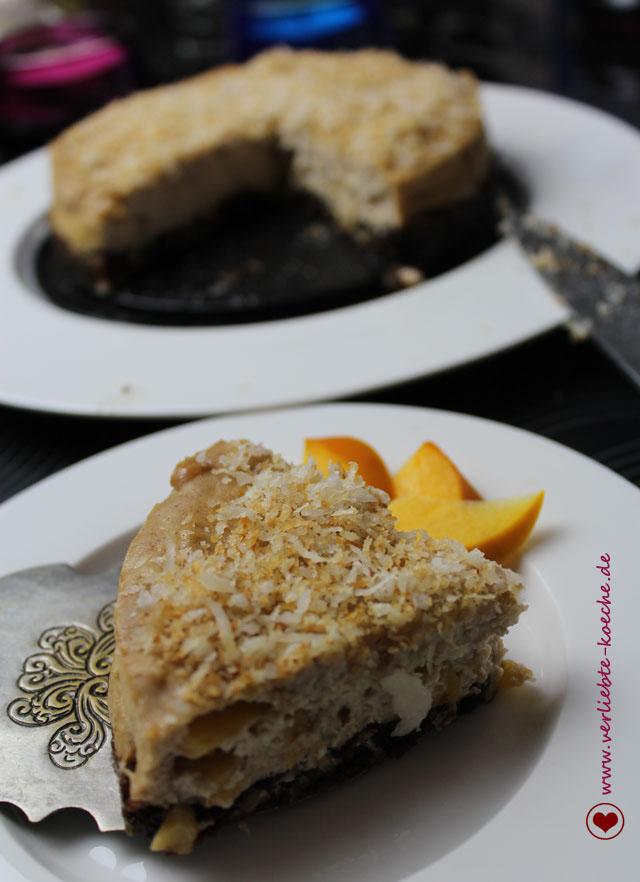 Kaki-Ricotta-Cheesecake